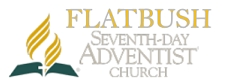 Flatbush Seventh Day Adventist Church Retina Logo